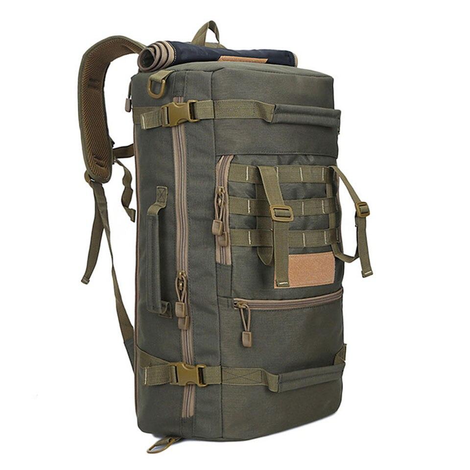 Хит продаж, высокое качество, 50 л, новый военный тактический рюкзак, сумки для кемпинга, сумка для альпинизма, мужской походный рюкзак, дорожный рюкзак