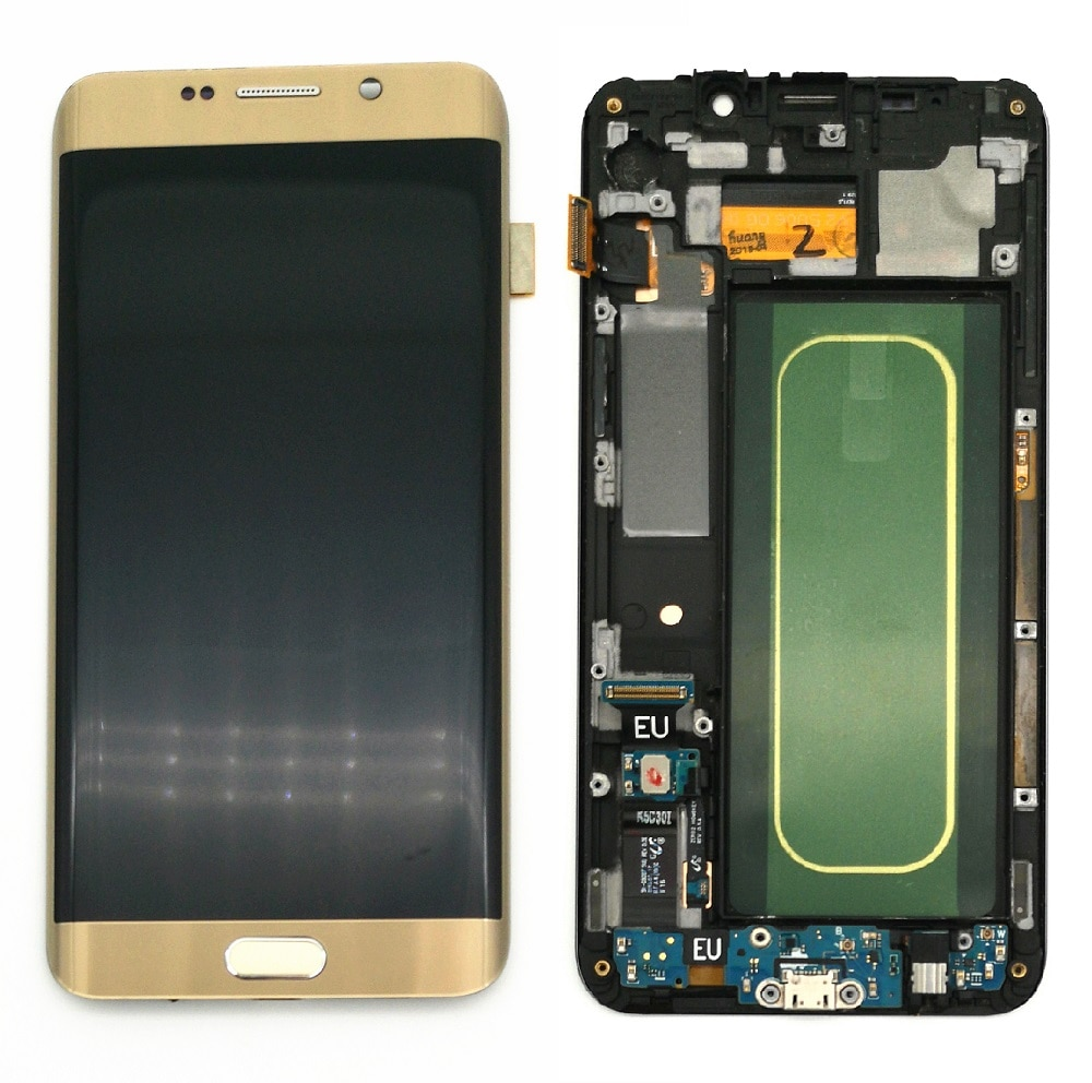 Super AMOLED LCD Display For Samsung Galaxy S6 Edge Plus G928 G928F LCD Display Touch Screen Digitizer Assembly enlarge