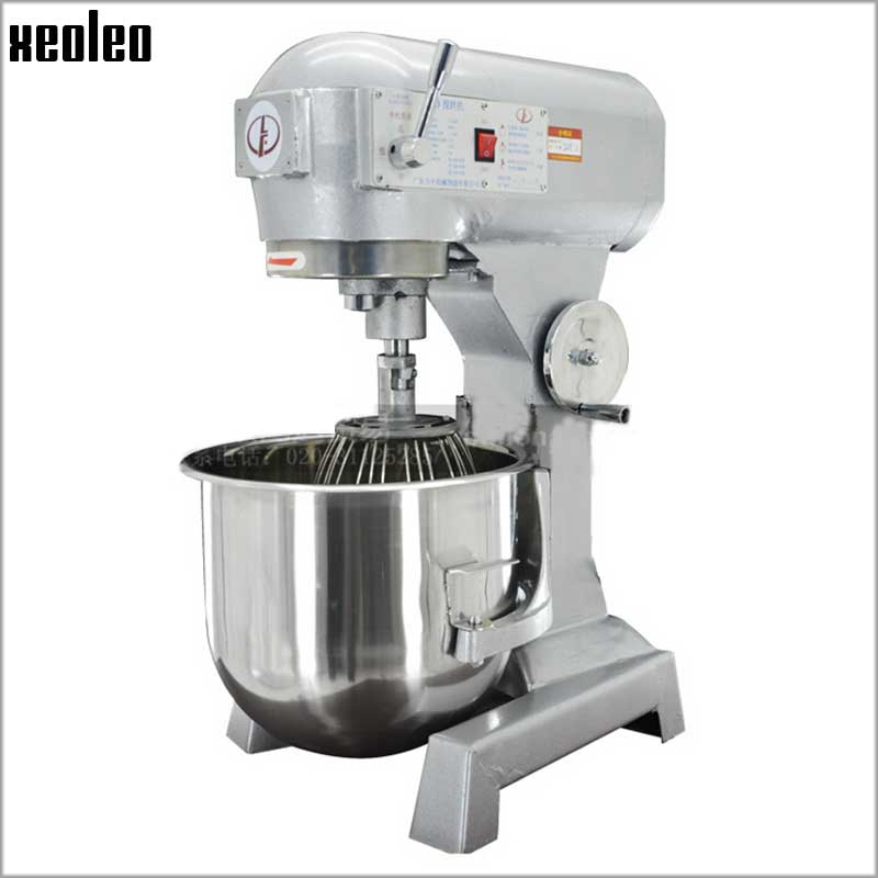 XEOLEO 20L Planetary mixer Professional Electric Dough Mixer Food Stand Mixer Whisk Blender Cake/Bread Mixing machine 1100W
