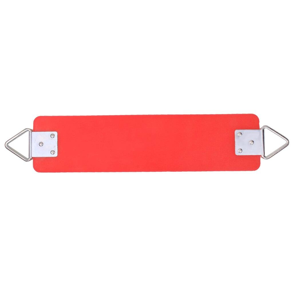 Conjunto de columpio para patio de recreo, cinturón de cinta, asiento columpio, patio de juegos, Rojo