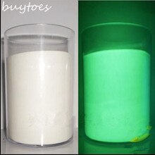 White color Luminous powder phosphor powder 100g/bag,decorating material,Glow Powder Paint Glow Green light.