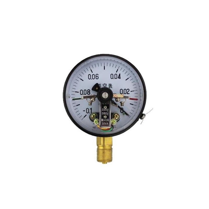 YXC-100 4 -0.1MPa 30VA Contato Elétrico Medidor de Pressão de Vácuo Equipamentos de Controle de Pressão Da Bomba de Água Assistente Magnético