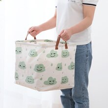 Cubo cesta de ropa sucia plegable cesta de almacenamiento de ropa barriles de almacenamiento para niños juguete organizador bolsa regalo caja contenedores