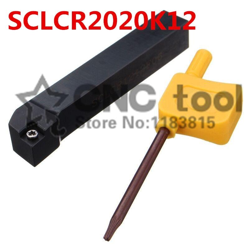SCLCR2020K12/scl2020k12, herramienta de torneado exterior, Outlet de fábrica, espuma, barra de perforación, cnc, máquina, salida de fábrica