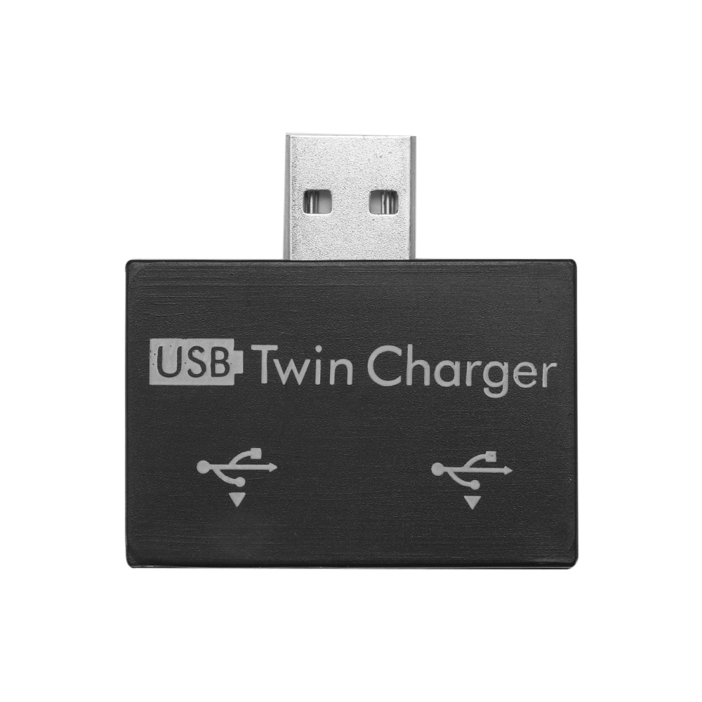 Powstro Mini Porta USB Hub para 2 Adaptador Hot Sale da moda New USB Divisor Hub Carregador para Computador Tablet Telefone
