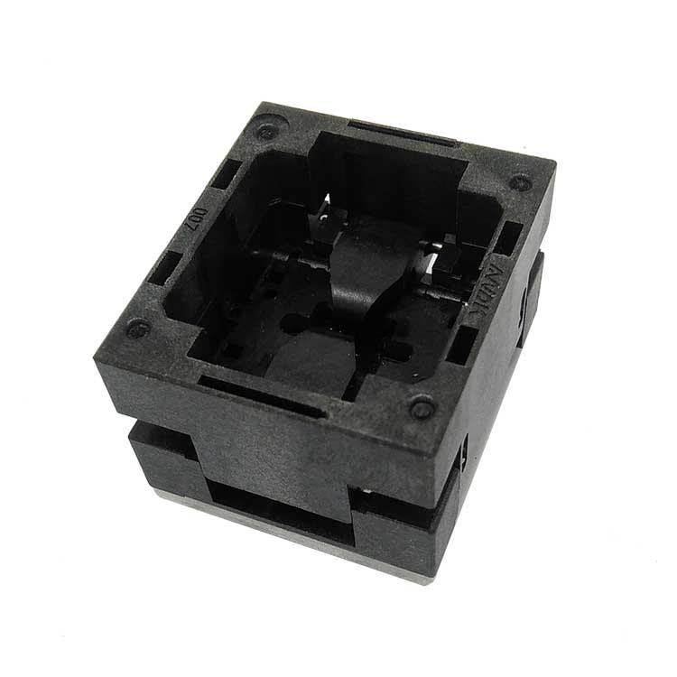 1 قطعة WSON8 التحقيق اختبار مقاعد البدلاء 5x6 مللي متر DFN8-1.27 التلقائي آلة حرق مقعد QFN8 مقعد
