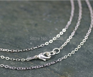 Free ship 100pcs/lot 3x2mm Antique Bronze/Silver/Gold Plated Cable Chains Link Necklace Finished 70cm copper long chains