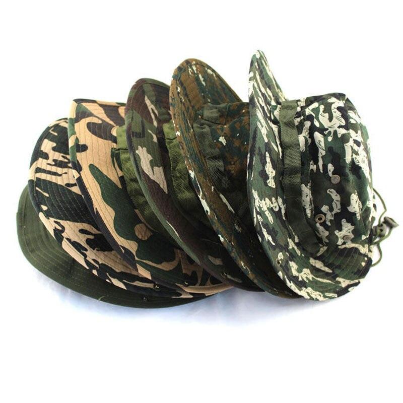 Унисекс классический американский боевой армейский Стиль GI BOONIE BUSH шляпа для