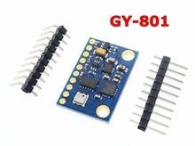 GY-801 10DOF 9 axes indicateur dattitude adaptateur ADXL345 HMC5883L BMP180 module remplacer BMP085