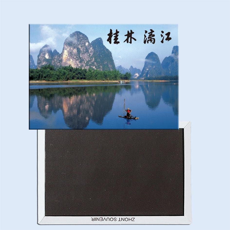 Imán de nevera Lijiang river Guilin 24465