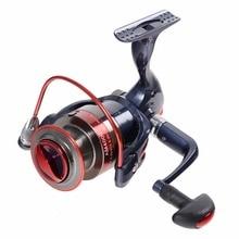 New Water Resistant Spinning Fishing Reels Left/Right Handle Metal Spool 12BB metal folding rocker arm 2000-7000 Fishing wheel