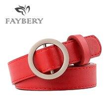 Western cuir souple femmes ceintures pour femmes jean décontracté PU Cowgirl ceinture argenté rond cercle métal boucle ceinture en gros