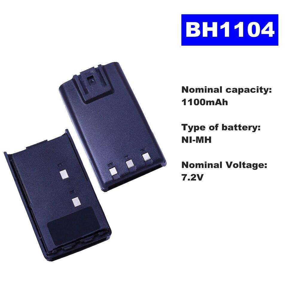 7.2V 1100mAh NI-MH Radio Battery BH1104 For HYT Walkie Talkie TC-500 Two Way Radio