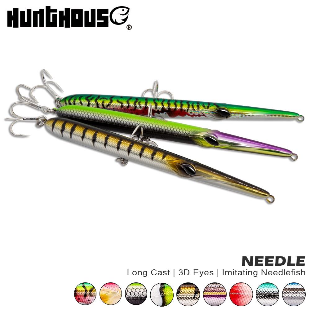 Hunthouse stylo 210 LW118 atraer lápiz 16cm/18g 18cm/24g 205mm 31/36g tiempo de lápiz stickbaits flotante se hunde aguja de señuelo