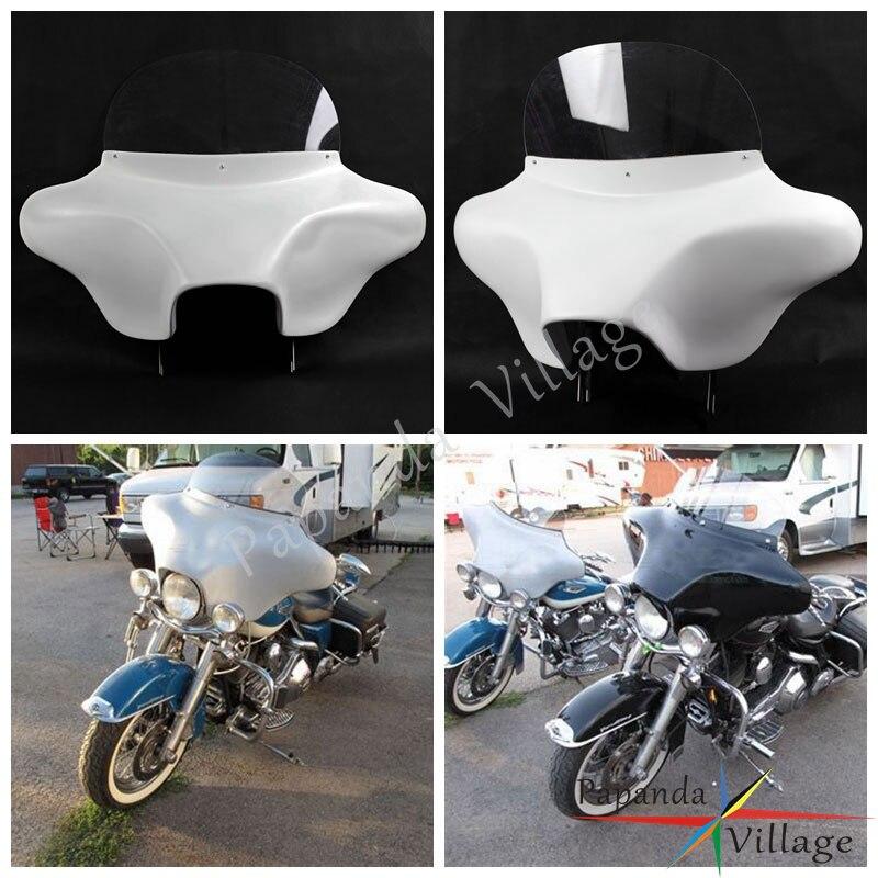 Papanda-مكبرات صوت بيضاء 6 × 9 لجناح الخفاش القابل للفصل ، من أجل Harley Road King ، Classic FLHRC ، 1994-2013