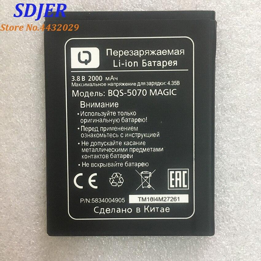 For BQS 5070 battery BQS-5070 MAGIC battery (Nous NS 5004) 2000mAh Mobile Phone Li-ion Battery Repla
