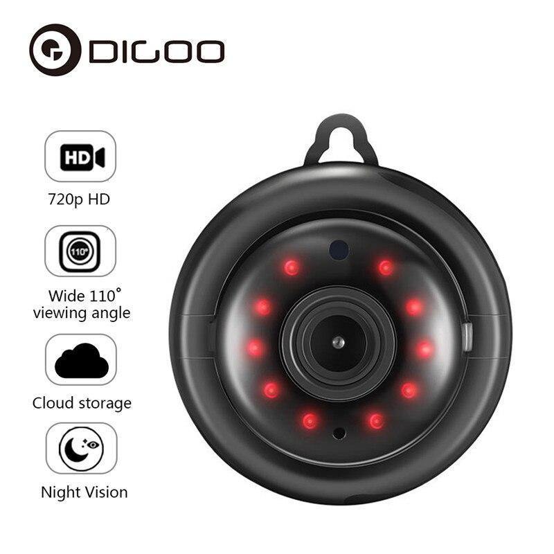 DIGOO DG-MYQ 2,1 мм объектив 720P WIFI ночное видение двухстороннее аудио домашняя Безопасность IP камера Обнаружение движения Onvif монитор