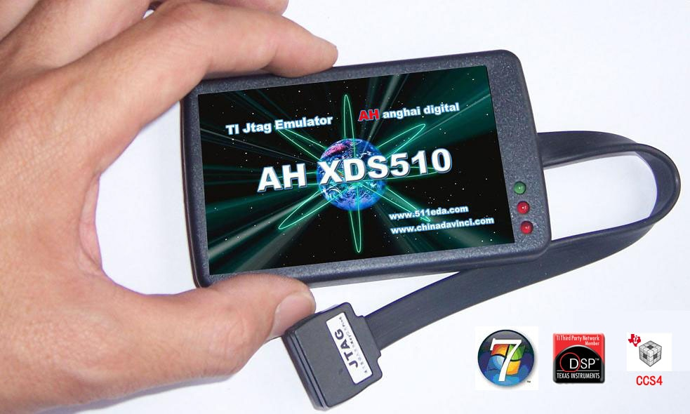 XDS510V4 simulator supports CCS 3.3 CCS 4.12 classic version support F240 F206