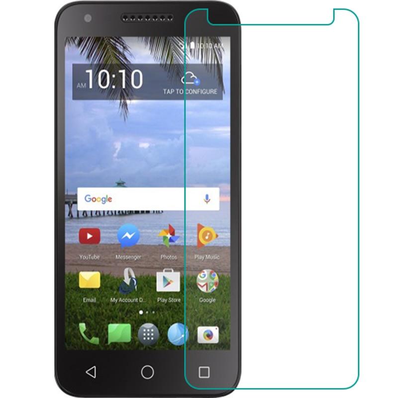 9 H vidrio templado para Alcatel 1X Evolve/IdealXtra 5059R/TCL LX A502DL Protector de pantalla teléfono