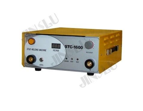 Máquina de Soldadura Do Parafuso Prisioneiro de Descarga do Capacitor STC-1600 Com Parafuso Prisioneiro Da Tocha