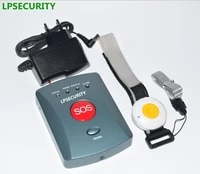 LPSECURITY     bouton hote dalarme GSM SOS  pour systeme dalarme de securite domestique avec 1 2 3 4 5 touches  numerotation automatique