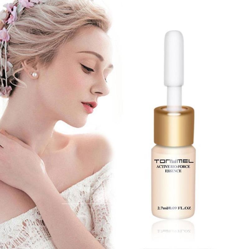 Suero de ácido hialurónico común que reduce poros faciales, suero hidratante para blanquear la cara, cuidado de la piel seca, vitamina C
