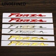 3D Motorcycle Sticker Decal Emblem Raised Reflective Fairing Sticker Vinyl Bling For Honda Forza 2014 2015 2016 pegatinas moto