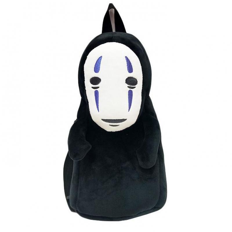 Studio Ghibli Унесенные призраками мужские рюкзаки без лица плюшевые куклы креативный рюкзак дети взрослые милые сумки