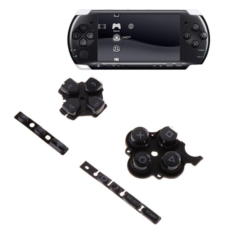 Nuevo Control de inicio izquierdo y derecho teclado conjunto botones Kit de reemplazo para PSP3000 jugadores accesorios de reemplazo