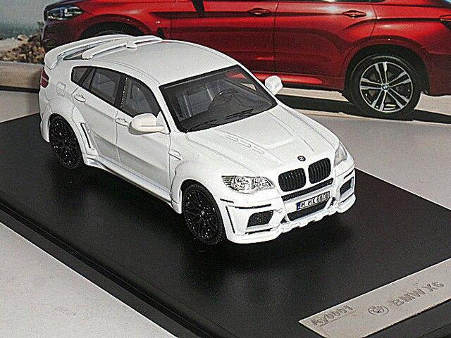1/43 de fundición modelo de coche X6 Ay0001 blanco