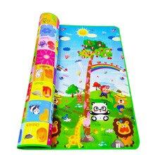 Playmat 아기 놀이 매트 장난감 어린이 매트 깔개 어린이 매트 개발 고무 eva 거품 놀이 4 퍼즐 거품 카펫 dropshipping