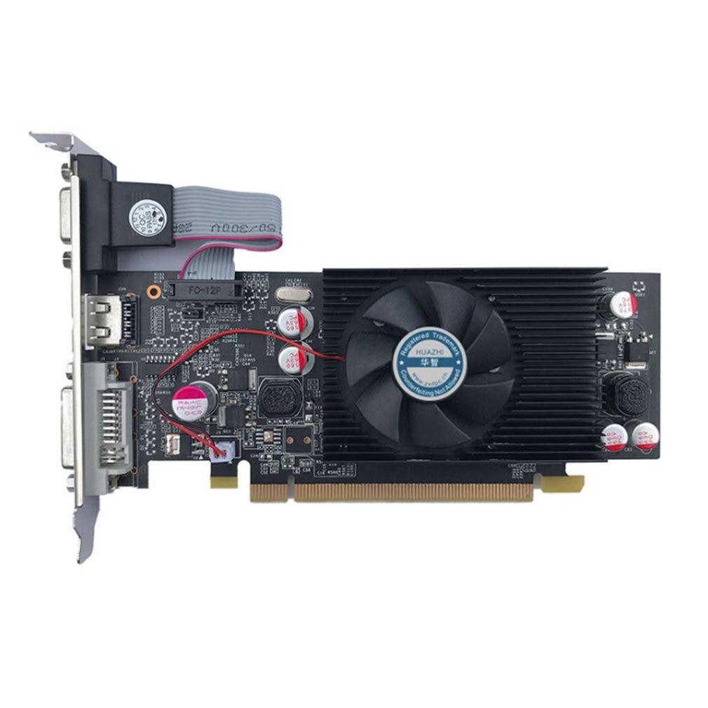 PNY NVIDIA Geforce VCGGT610 بطاقة جرافيكس XPB 1GB DDR3 SDRAM PCI Express 2.0 بطاقة فيديو بطاقات فيديو موالف التلفزيون