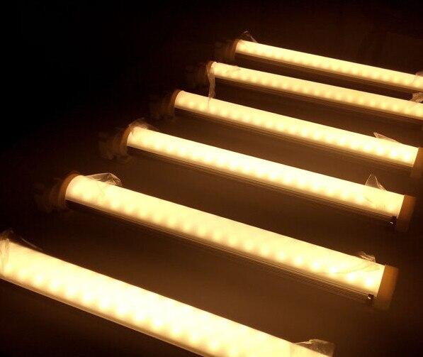 10pcs/lot  Brightness 4pin 2g11 led tube light 320mm 12w milky /transparent cover led PL 2g11 tube AC85-265V enlarge