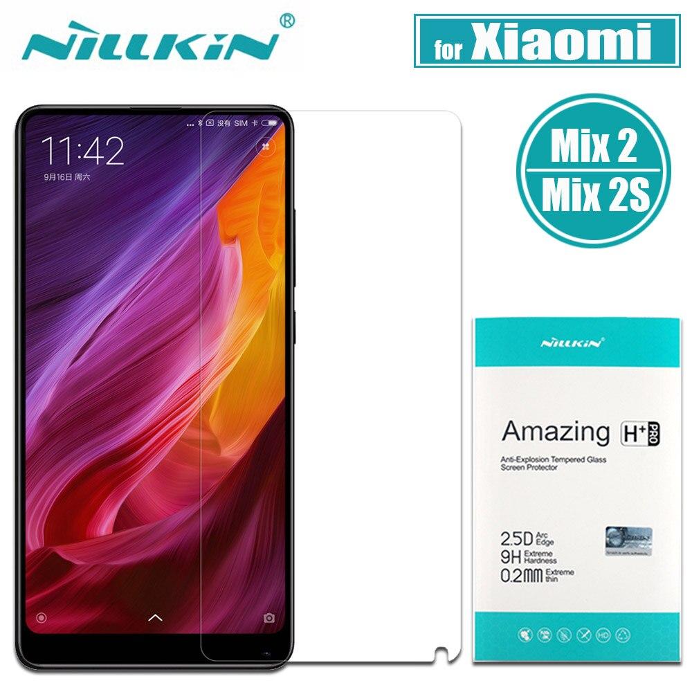 Xiaomi Mi Mix 2S Tempered Glass Xiaomi Mix 2 Screen Protector Nillkin H Plus Pro 0.2mm Clear Glass Flim for Xiaomi Mix 2S / Mix2