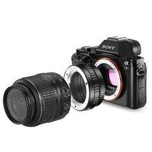 Neewer adaptateur de monture dobjectif pour objectif Minolta MD vers Sony NEX appareil photo e-mount convient à Sony A7/S//SII/R//RII/A7II A3000 A6000 A6300