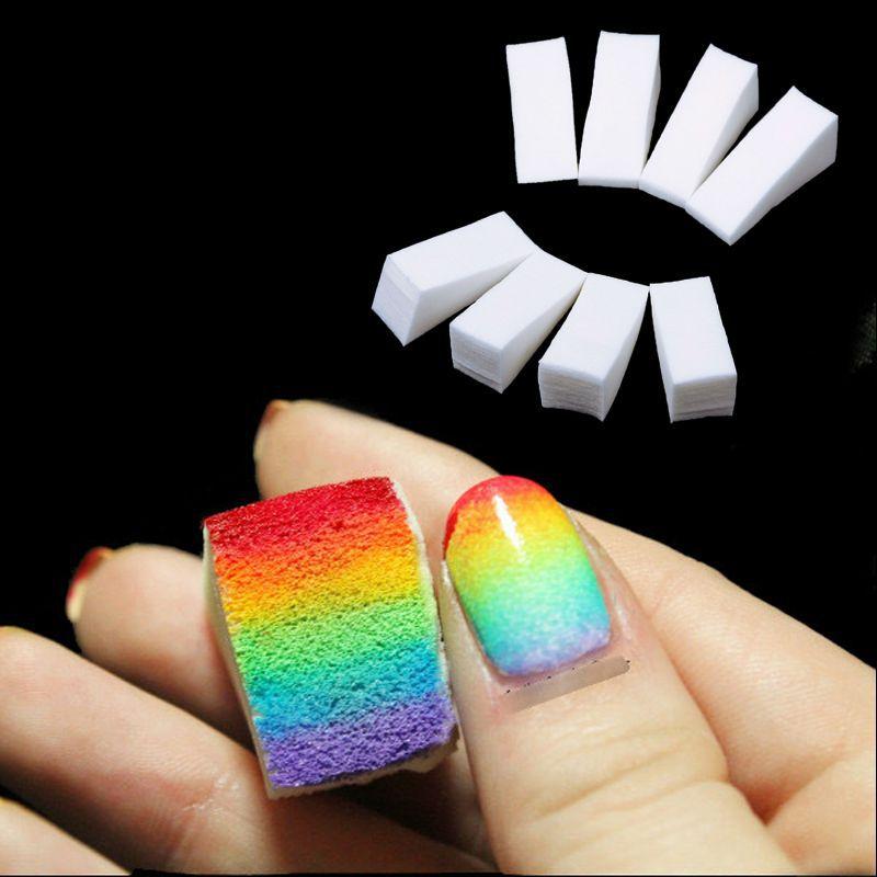 CLAVUZ 24 шт. новые женские спонжи для ногтей для салона, макияжа, маникюра, аксессуары для дизайна ногтей, гель для изменения цвета, оборудовани...