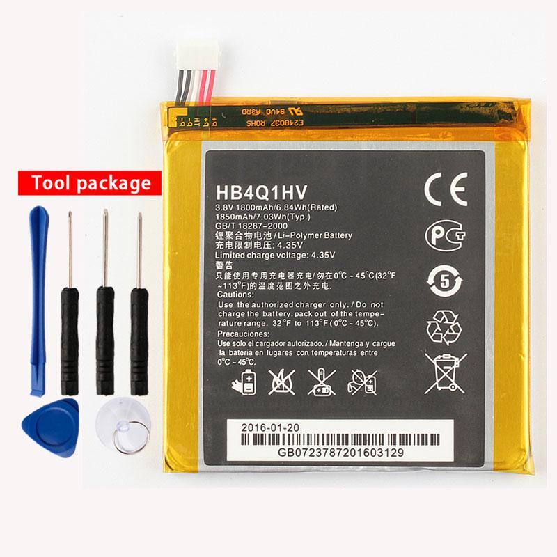 Original HB4Q1HV de la batería del teléfono para Huawei U9200 U9500 T9200 Ascend P1 D1 1800m