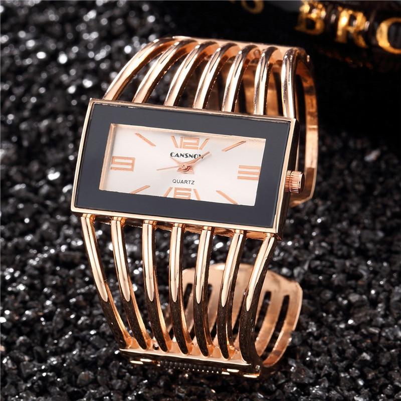 2019 femmes marque de luxe Bracelet Montre mode or Rose Bracelet femmes robe horloge femme Montre-Bracelet Relogio Montre Feminino Saat