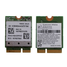 802.11n/b/g/n 2,4 QCNFA222/5 GHz WiFi Bluetooth PCIe medio tarjeta Mini para Atheros C26