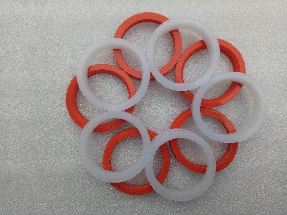 Envío gratis/10 Uds. 58mm silicona gel sellado o anillo para calentador de agua solar tubo de vacío