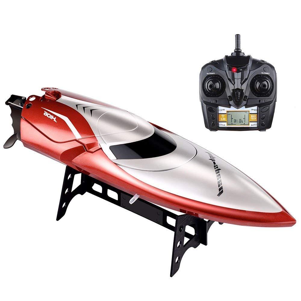 Hot Water Electric Surfing RC Boat 2.4G 4CH 30KM/H Self Righting Waterproof High Speed Racing Radio Control Speedboat Boat Model enlarge