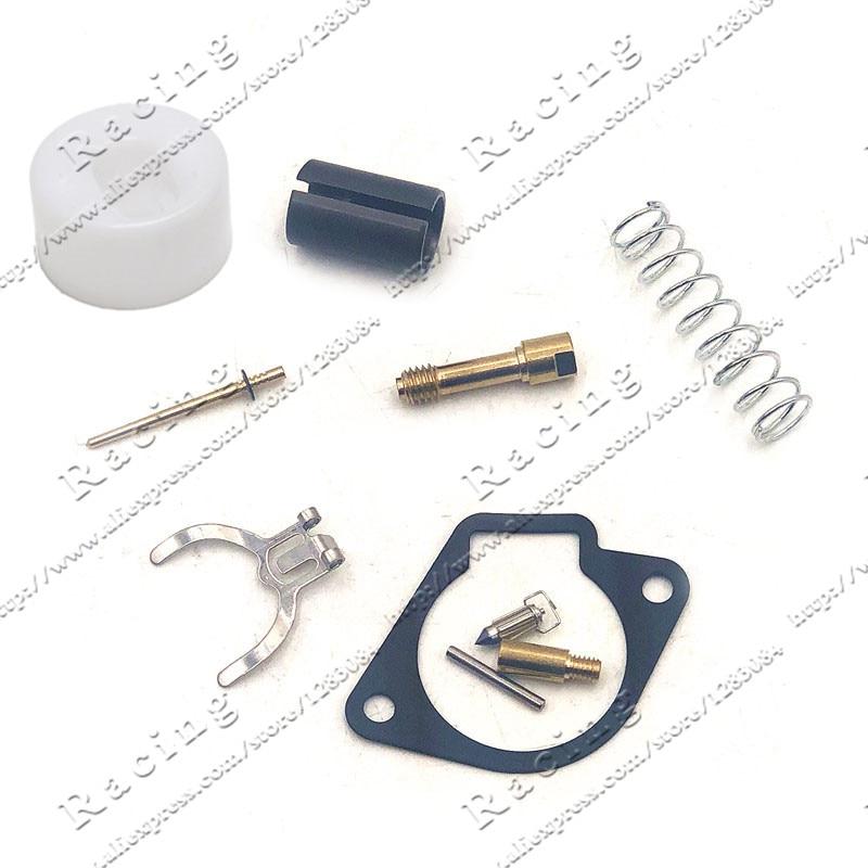 Kit de reparación de carburador Universal apto para 2 tiempos 43CC 47CC 49CC Mini Moto Pocket Bike motocicleta Fuel System Parts
