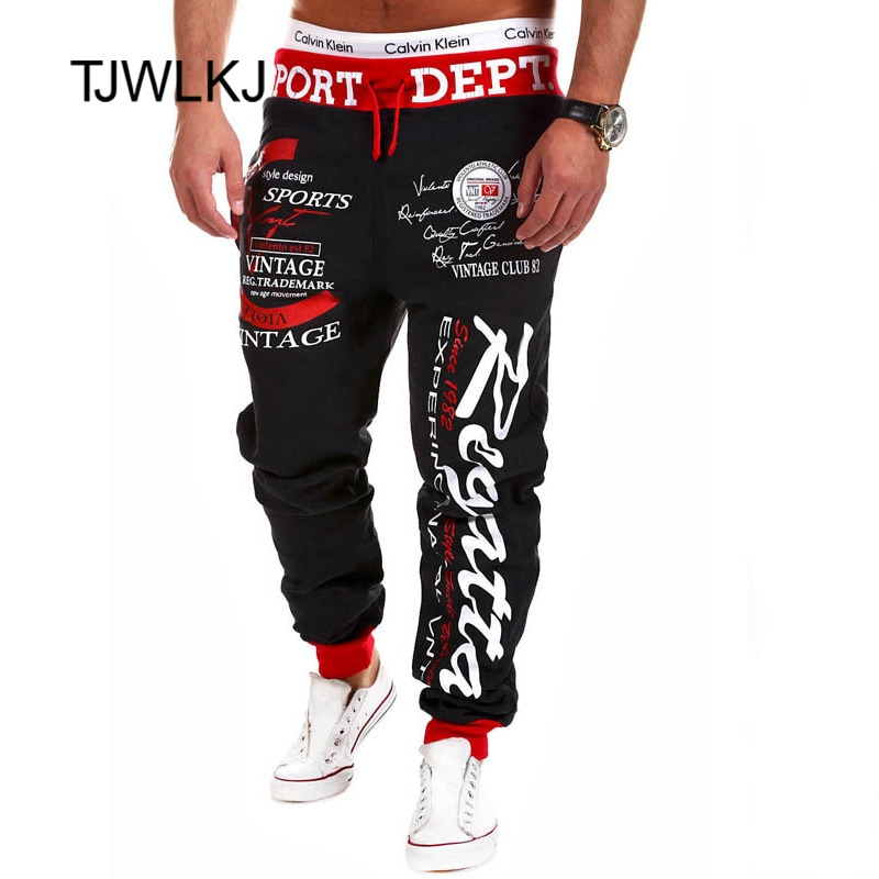 men's pants weatpants Hip Hop joggers cargo pants men casual pants fashion printing trousers streetwear pantalones hombre