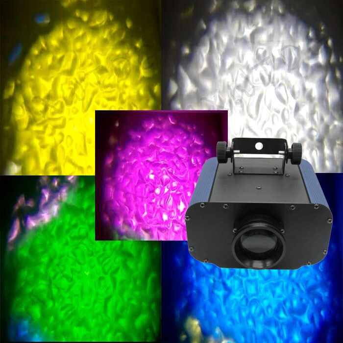 High power 50W LED Water Wave Ripple light Watermark colorful Disco Stage Light Party Pattern Lighting Show Laser Projector