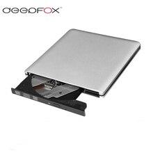 Deepfox Usb 3.0 Externe CD-RW/DVD-RW Dvd Brander Recorder Optische Drive Voor Tabletten Pc Mac Laptop Notebook Slim drive