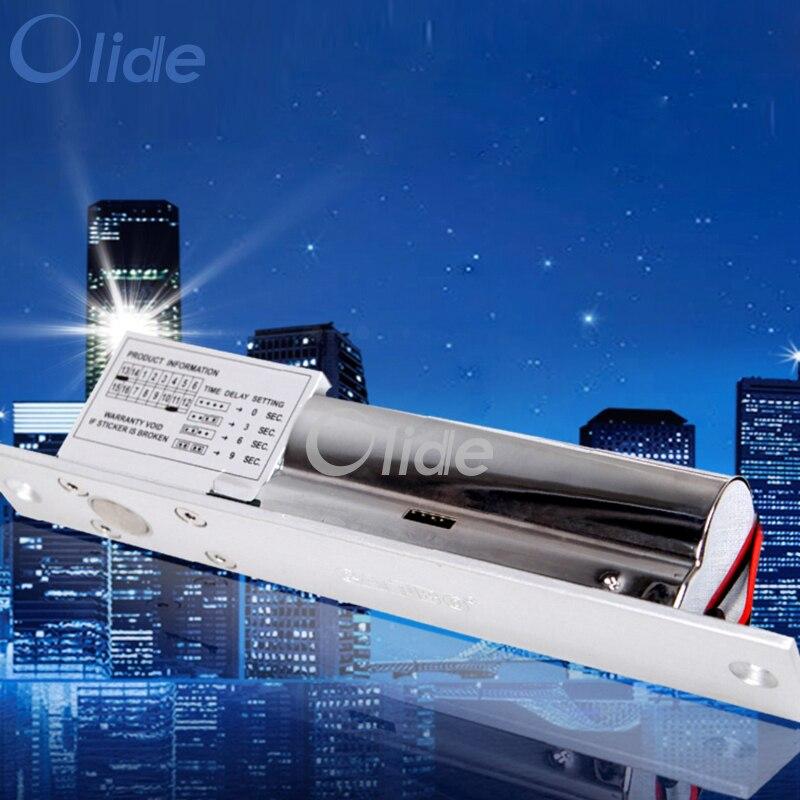 وقت تأخير القفل الكهربائي 0-9S ، قفل كهربائي DC12V لنظام Autodoor