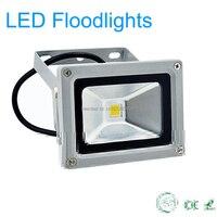 10 W מתח גבוה הוביל זרקורים חיצוני עמיד למים IP65 led מבול אור חיסכון באנרגיה מנורה לגן luminaire משלוח חינם