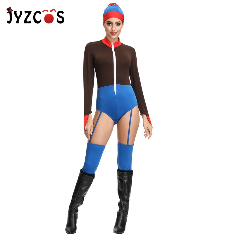 free shipping halloween children s clown costume masquerade performance clothing stage circus clown comedy costume boy cosplay JYZCOS Circus Clown Costumes Masquerade Cosplay Costume Elastic Bodysuits Halloween Costumes for Women Party Fancy Dress