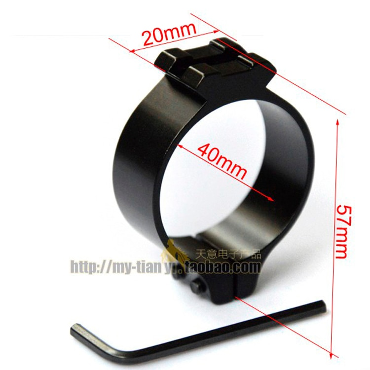 40mm Picatinny Scope Rings