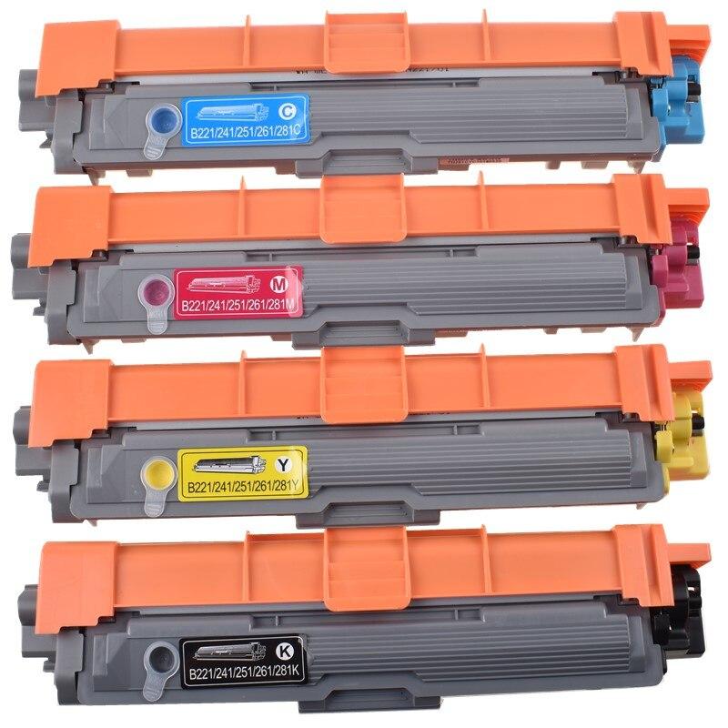 BLOOM Compatible cartucho de tóner TN281 TN221 TN225 TN241 TN245 TN251 TN255 TN261 TN265 hermano HL-3140 3150 3170 DCP9020